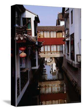 Buildings on the Canal, Suzhou, Jiangsu, China