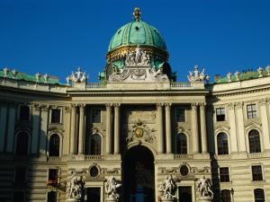 Curved Facade of the Michaelertrakt, Vienna, Austria by Diana Mayfield