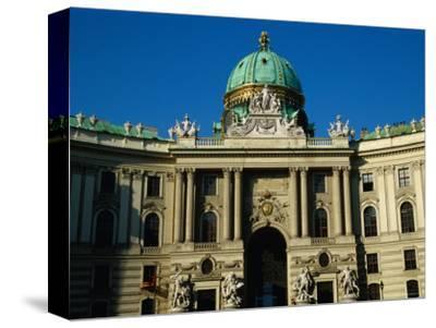 Curved Facade of the Michaelertrakt, Vienna, Austria