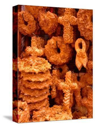 Decorative Wedding Bread for Sale, Hania, Crete, Greece