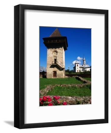 Defence Tower of Humor Monastery (1641), Humor Monastery, Suceava, Romania,
