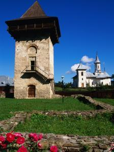 Defence Tower of Humor Monastery (1641), Humor Monastery, Suceava, Romania, by Diana Mayfield