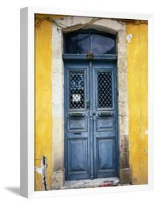 Doorway in Old Venetian Quarter, Hania, Crete, Greece by Diana Mayfield