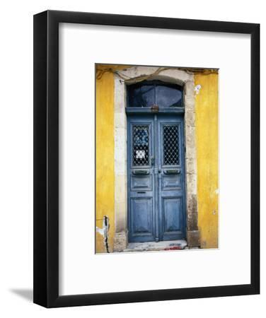 Doorway in Old Venetian Quarter, Hania, Crete, Greece
