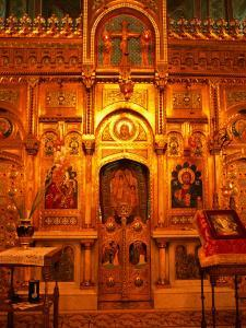 Interior Artworks of Episcopal Church, or the Monastery of Curtea De Arges, Romania, by Diana Mayfield