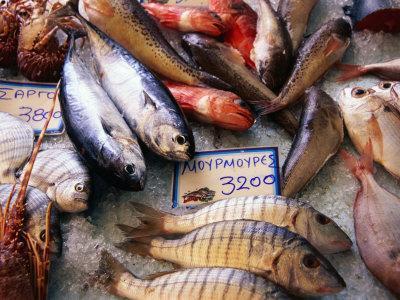 Market Fish, Rethymno, Crete, Greece