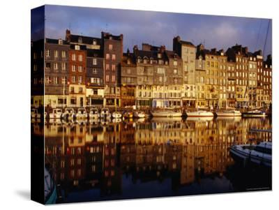 Morning Reflections of Vieux Bassin, Honfleur, Basse-Normandy, France