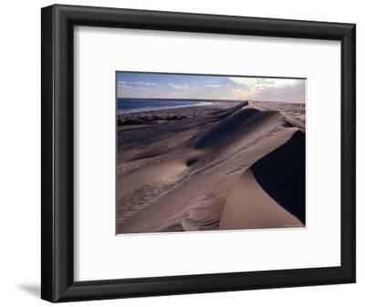 Sand Dunes on the Great Australian Bight, Australia
