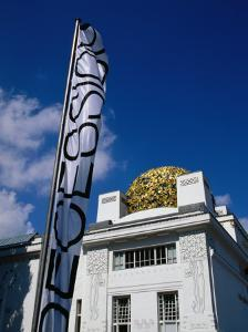 Secession Building, Vienna, Austria by Diana Mayfield