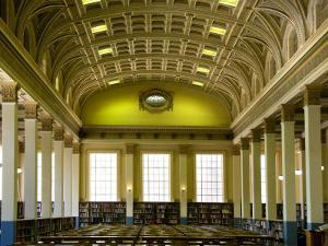 The Reading Room in the Barr Smith Library, University of Adelaide by Diana Mayfield