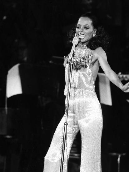 Diana Ross - 1976-Isaac Sutton-Photographic Print