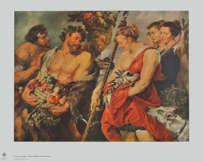 Diana s Return from the Chase-Peter Paul Rubens-Collectable Print