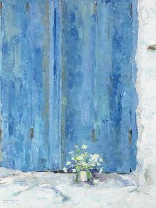 Blue Shutter, 1990 by Diana Schofield