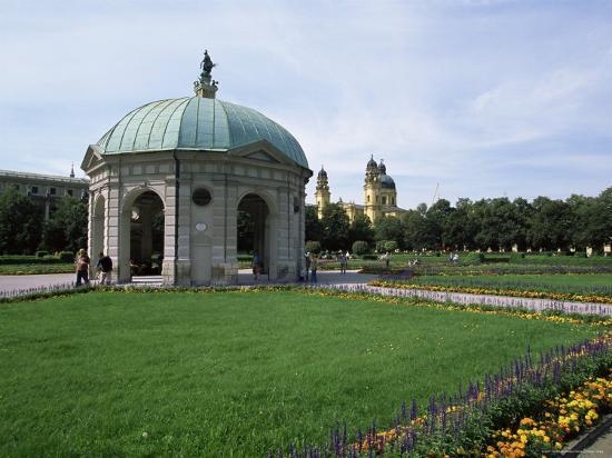 Diana Temple, Hofgarten, Munich, Bavaria, Germany-Yadid Levy-Photographic Print