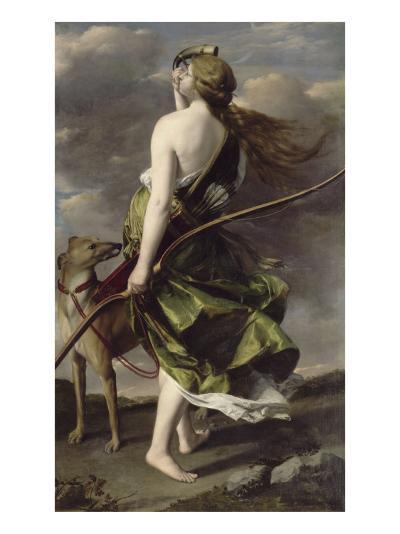 Diane chasseresse-Orazio Gentileschi-Giclee Print