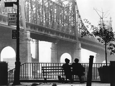 Diane keaton and woody allen manhattan directed by woody