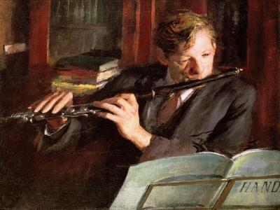 Clifford Musgrave,The Flautist
