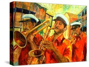 Big Brass Beat In New Orleans by Diane Millsap