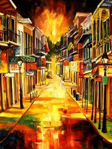 Bourbon Street Night by Diane Millsap