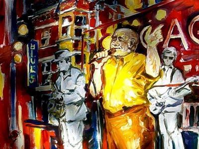 Chicago Blues by Diane Millsap