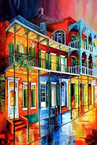 Colors of the Vieux Carre by Diane Millsap