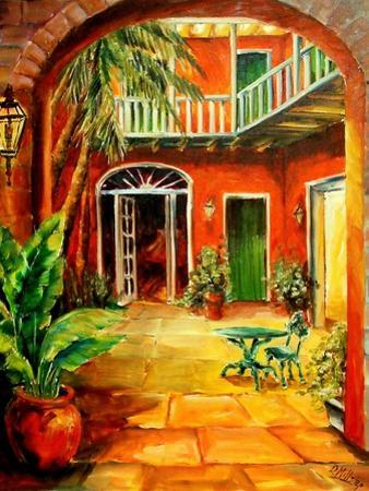 Creole Courtyard by Diane Millsap