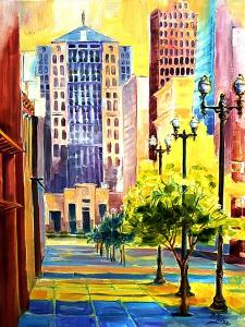 Dawn in Chicago by Diane Millsap