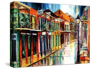 French Quarter Rain by Diane Millsap