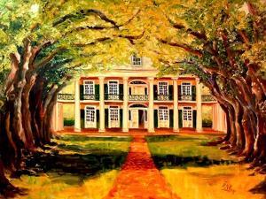 Oak Alley Plantation by Diane Millsap