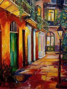 Pirates Alley By Night by Diane Millsap