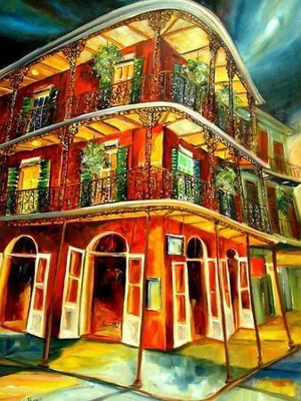 Royal Street Revelry by Diane Millsap