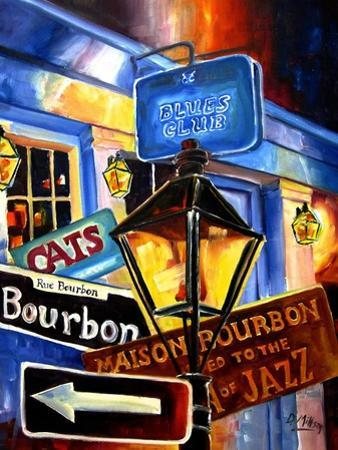 Signs of Bourbon Street by Diane Millsap