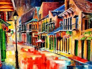 St Peter Street Jive - New Orleans by Diane Millsap