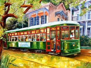 Streetcar in New Orleans by Diane Millsap