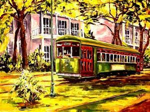 Streetcar on St. Charles Avenue by Diane Millsap