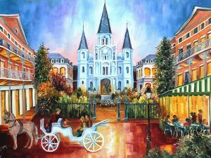 The Hours on Jackson Square by Diane Millsap