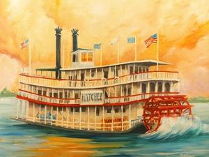 The Natchez Riverboat by Diane Millsap
