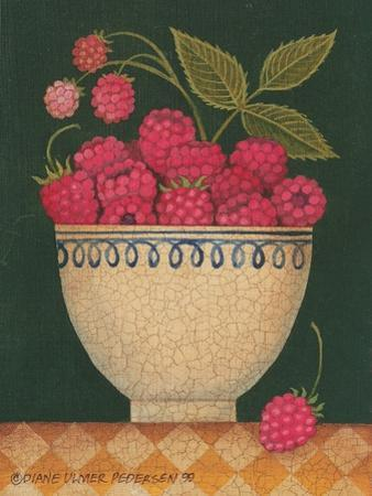 Cup O' Raspberries by Diane Pedersen
