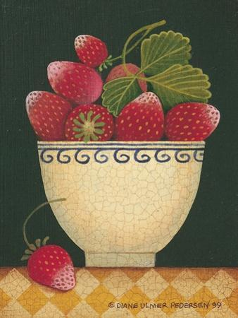 Cup O' Strawberries by Diane Pedersen