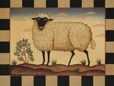 Farm Sheep by Diane Pedersen