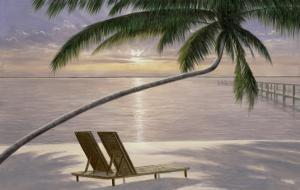 Chaise for Two by Diane Romanello