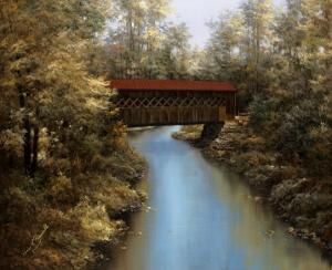 Covered Bridge by Diane Romanello