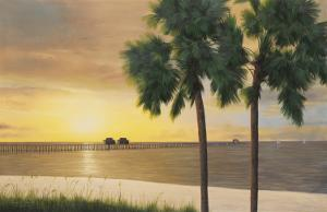Naples Sunset by Diane Romanello