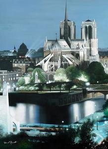 Notre Dame by Diane Romanello