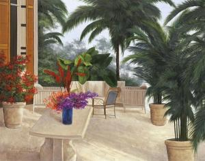 Private Patio by Diane Romanello