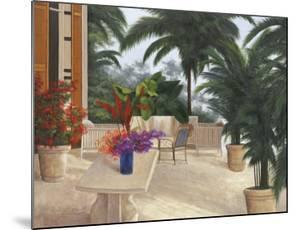 Private Patio by Diane Romanello