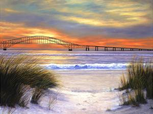 Sunset over Robert Moses by Diane Romanello
