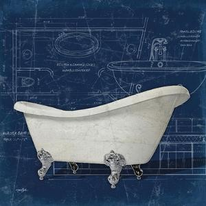 Bath Blues 2 by Diane Stimson