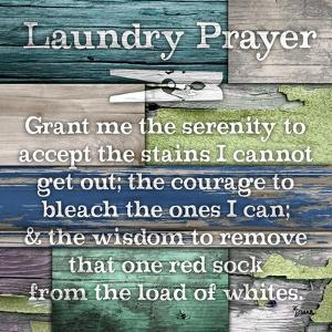Laundry Prayer by Diane Stimson