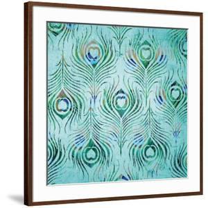 Peacock Pattern 2 by Diane Stimson